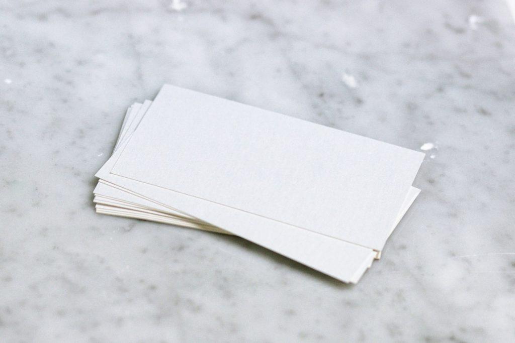 Бизнес визитки в стиле фен-шуй